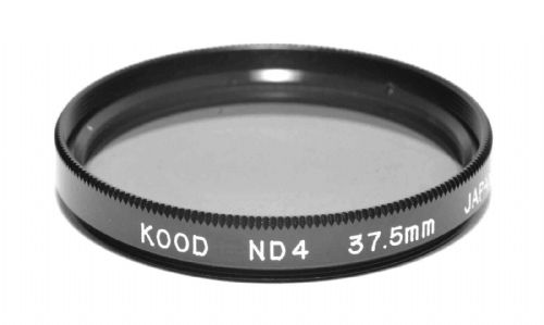 37.5mm Kood High Quality ND4 Neutral density filter Made in Japan 2 stop Filter